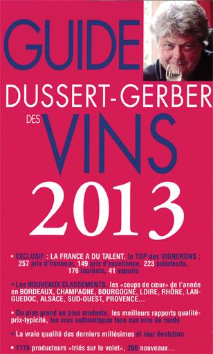Guide Dussert Gerber des vins 2013