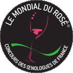 Mondial du rosé logo